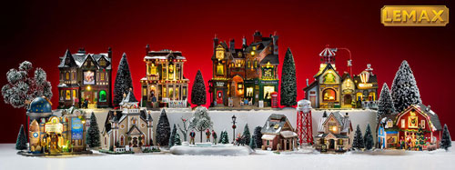 Lemax Village Collection - Halloween and Christmas Collectibles