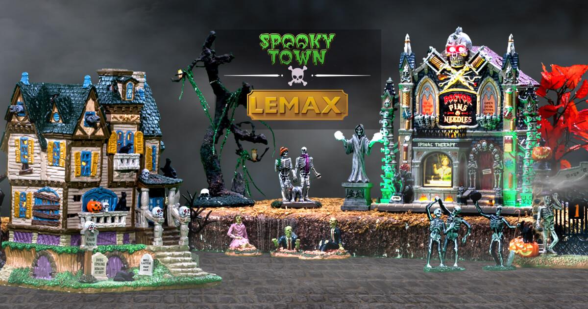 LEMAX Garden of Eaten Worker Halloween Spookytown Spooky Town